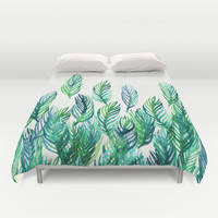 Jungle Rising Duvet Cover by Micklyn | Society6