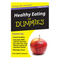 Healthy Eating Refrigerator Magnet Book For Dummies