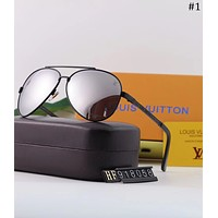 LV 2018 new men's casual fashion retro polarized sunglasses #1