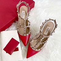 Valentino new women's sexy stiletto heels