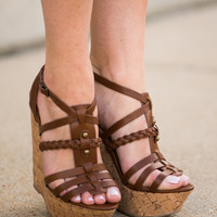 The Spencer Wedge, Tan