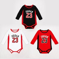 Naughty Baby Basketball Clothes Jordan Baby Sport Body Baby Boy Clothes Romper