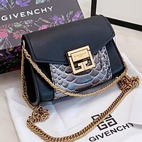 Hipgirls Givenchy  New fashion leather chain shopping leisure waist shoulder bag crossbody bag