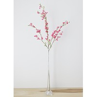 Dark Pink Silk Cherry Blossom Branch - 45""