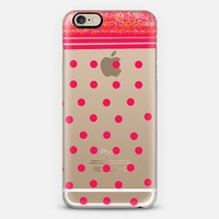 red dots iPhone 6 case by Marianna Tankelevich   Casetify