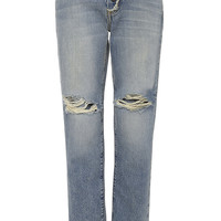 The Fling Exposed Fly High Rise Jeans
