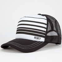 Roxy Truckin Womens Trucker Hat Black/White One Size For Women 25605112501