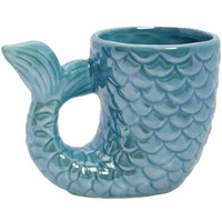 Mermaid Tail Ceramic Coffee Mug - OUT OF STOCK UNTIL 2019