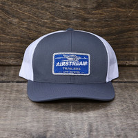 Airstream Name Plate Trucker Mesh Hat - Grey