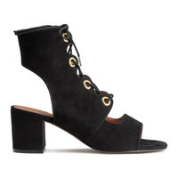 H&M Sandals with Lacing $49.99