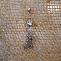 Browning Deer Belly Button Ring