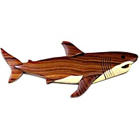 Shark Wooden Magnet