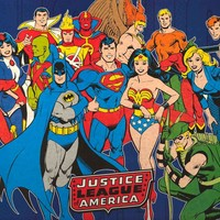 Justice League Classic Superheroes Poster 24x36