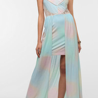 Urban Outfitters - Kimchi Blue Knit Watercolor Maxi Dress