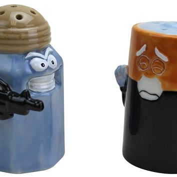 Assault and Battery Salt & Pepper Shaker Set