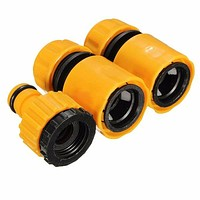 3 Pcs Garden Car Water Hose Pipe Tap Connector Vehicle Washing Hosepipe Adapter