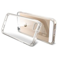 [+Screen Film][AIR CUSHION] Spigen Apple iPhone 5S / 5 Case ULTRA HYBRID [Crystal Clear] [1 FREE Premium Japanese Screen Protector + 2 FREE Graphics] Bumper Case with Anti-Scratch Clear Back Panel + Air Cushion Technology Corners for iPhone 5S / 5 - ECO-Fr