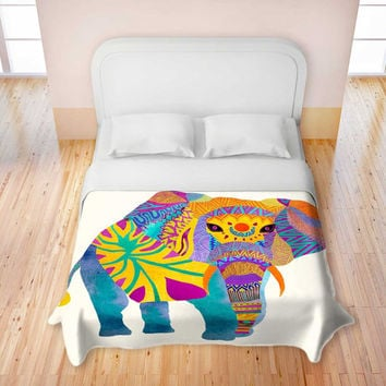 Whimsical Elephant - Artistic Bed Duvet Cover for your home decor in Twin, Queen & King Sizes
