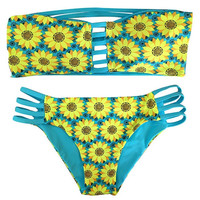 Sun Flower Swimming Wear Bathing Suit