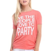 Women's Short Sleeve Graphic Printed T Shirts
