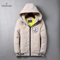 Boys & Men Moncler Fashion Casual Quilted Cardigan Jacket Coat Hoodie