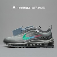 Maopan Original Casual OFF-WHITE x Nike Air Max 97 Menta Casual Casual Sneakers