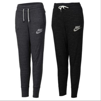 "Women ""NIKE"" Autumn Movement Leisure Yoga Sweatpants"