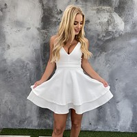 J'adore Skater Dress in White