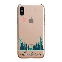 Adventurer - Clear TPU - iPhone Case