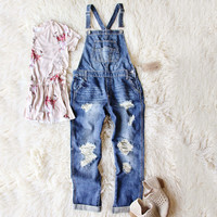 Easy May Overalls Dark Wash