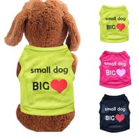 """""""Small Dog, Big Heart"""" Clothing for Small Dogs"""
