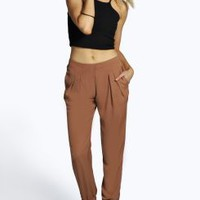 Kylie Woven Luxe Joggers
