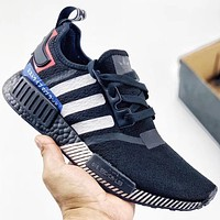 Trendsetter Adidas NMD R1  Women Men Fashion Casual Sneakers Sport Shoes