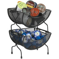 Nifty Home Products Mesh 2 Tier Utility Basket