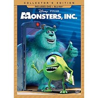 Monsters, Inc. DVD and Blu-ray Combo Pack - Collector's Edition   Disney Store