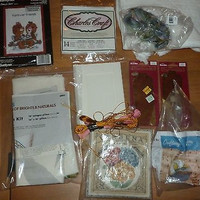 Lot of 10 Craft Items - Craft Kits