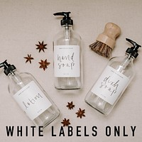White Labels for Dispensers