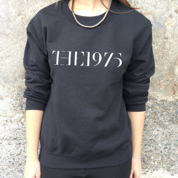 The 1975 Band Jumper Top Sweater Music Indy Rock Facedown Hipster Retro 1975's