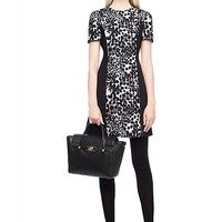 Versace - Tailored Printed Shift Dress