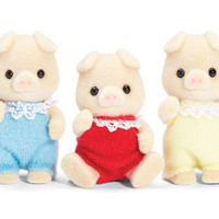 Calico Critters Oinks Pig Triplets