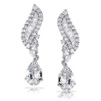 Bling Jewelry Riding Waves Earring