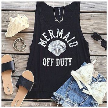 Mermaid Off Duty Tank
