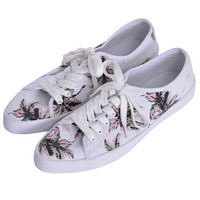 POINTED LACE UP SNEAKER - EMODA Global Online Store