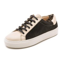 By Malene Birger Ceall Lace Up Suede Sneakers
