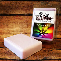 MANHANDS CANNABIS SCENTED SOAP