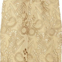 Marni Cutout embroidered crepe skirt - 75% Off Now at THE OUTNET