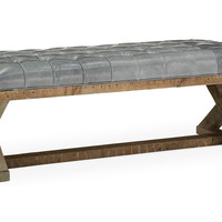 X-Base Bench, Mont Blanc Storm, Bedroom Bench