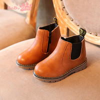 2016 winter children fashion martin boots kids chelsea boots boys girls snow boots kids pu leather toddler oxford shoes 6-96