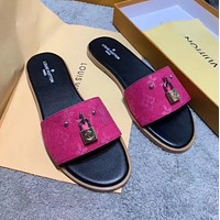 Louis Vuitton LV tapered end 2020 Sandals