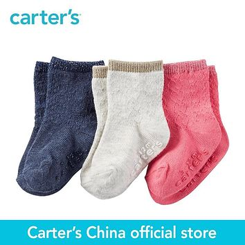 Carter's 3pcs baby children kids 3-Pack Socks GB14684,sold by Carter's China official store